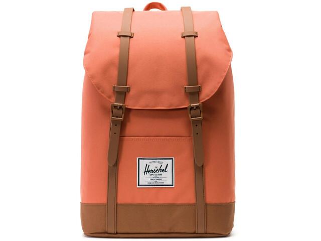 f85c3a3ecaa Herschel Retreat Backpack 19,5l Unisex apricot brandy/saddle brown ...